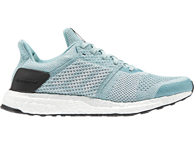 adidas UltraBoost Stability Running Shoes Women Blue Spirit/White/Chalk Pearl